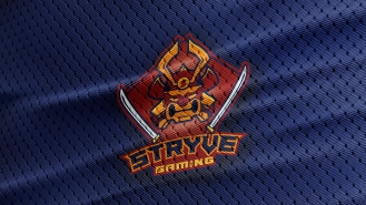 Stryve Logo on texture